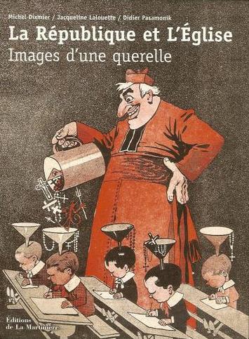 Caricature anti-cléricale école