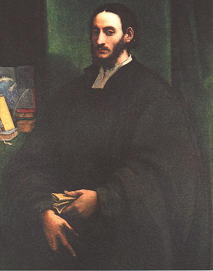 Portrait d'un humaniste (Léon l'Africain à Rome) par Sebastian del Piombo