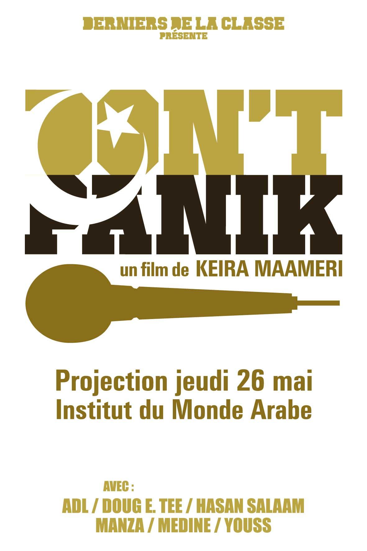 Don't Panik, l'affiche