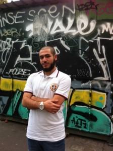 Hamza Ould Mohamed, président de la Maison des Potes de Saint-Etienne