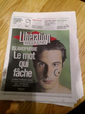 Libération Weekend Islamophobie